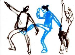 """ריקוד חופשי בחשיכה נעימה - חמישי ה- 24.9.20 @ סטודיו פרטי במושב גבעת ח""""ן"""